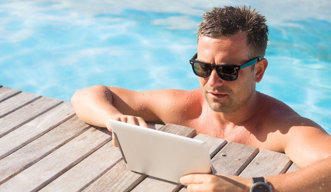 Ben jij offline op vakantie?