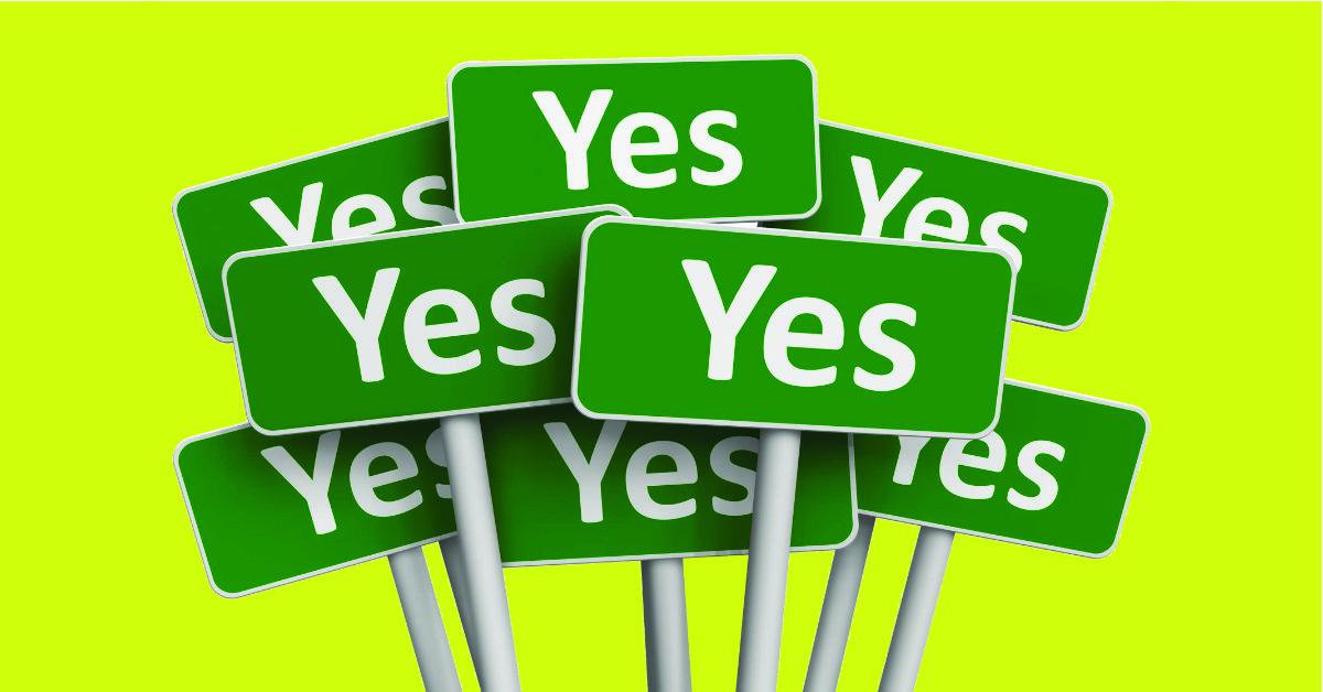 waarom ja-zeggers egoïstisch zijn