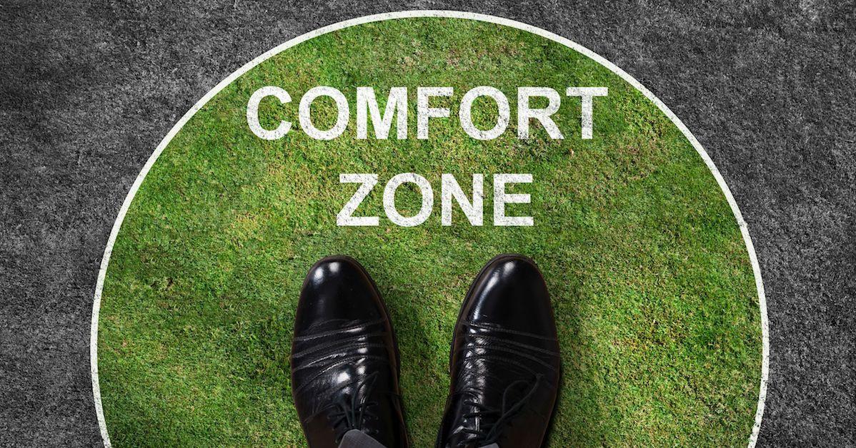 comfortzone oprekken