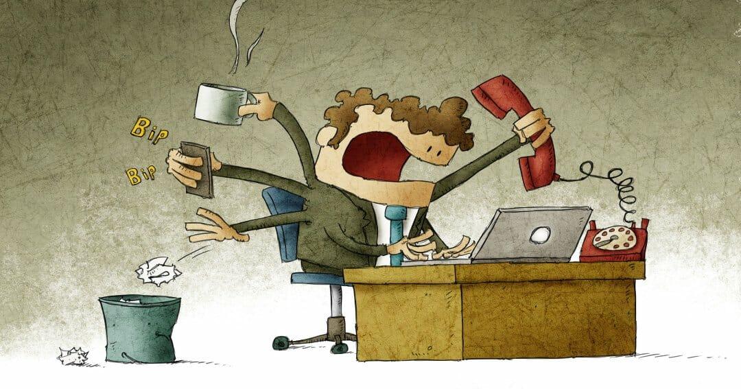Werkstress bestaat niet