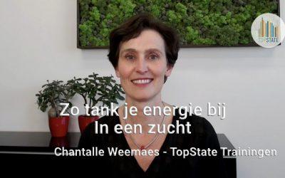[Vlog] Zo tank je energie bij in een zucht